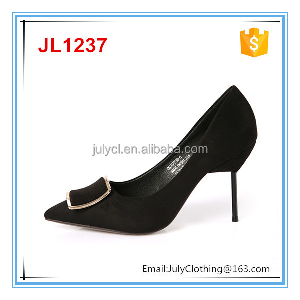 2017 Italy design elegant high heel lady shoes ladies High heel pointy shoes