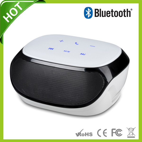Mini Portable wireless Bluetooth Speaker fm radio double subwoofer loudspeakers mini USB music speakers sound box boombox AJ 81