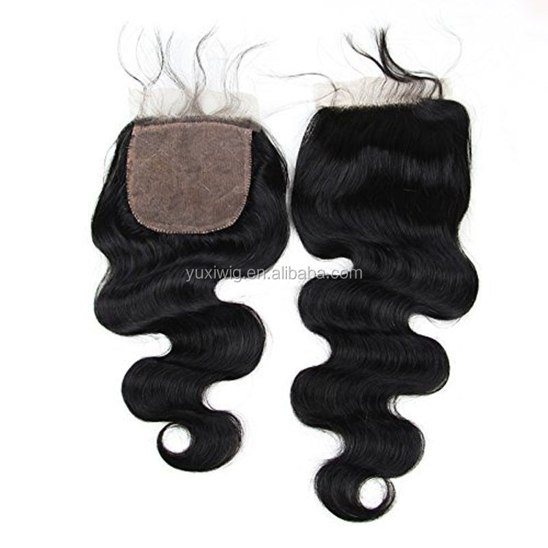 2016 The Most comfortable cheap stock silk base closure