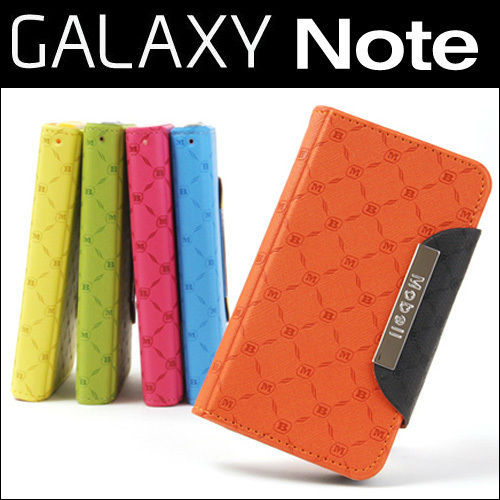 Samsung Galaxy Note i9220 GT-N7000 Mobell PU Leather Wallet Phone Case
