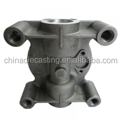 Aluminum die casting train engine parts names of train parts railway train parts