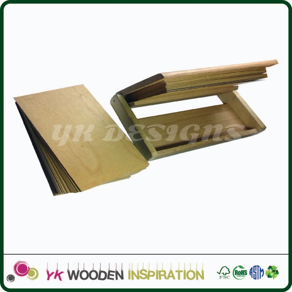 Business card holder gold for Gift Box