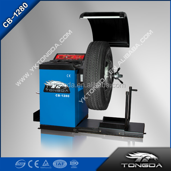 2016 High quality and with CE ISO certificate CB-1280 no belt driving wheel balancer on Sales