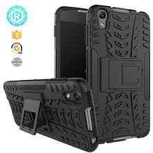 Hybrid case for Alcatel idol 4 dazzle shockproof kickstand back cover