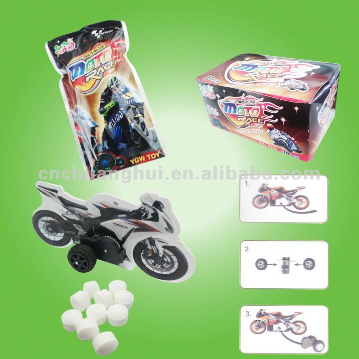 3D Pull Back Motorcycle