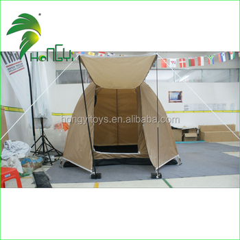 customized khaki camping folding tent/unique camping tents