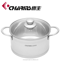 Charms high quality stainless steel casserole
