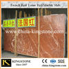 French Red Louis Red Marble Slab