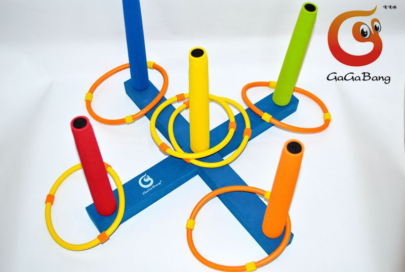 Hot Sale Beautiful Garden Toy, Ring flying set toys, foam rubber set toy, Toss Ring, Ring Toss set toys