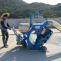 CE approved customized road shot blasting machine