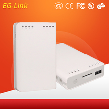 3G Wifi Router With SIM Card Slot Modem With Power Bank RJ45 Port