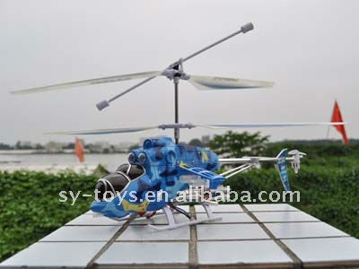 3 channel with gyroscope rc helicopter