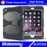 wholesale Hybrid waterproof silicon 8 inch tablet pc silicone case for iPad mini 4
