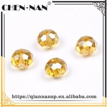 Latest arrival unique design irregular transparent small hole glass beads