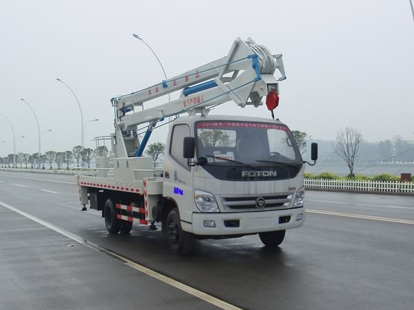 Folding arm hot sale FOTON 18M aerial platform truck