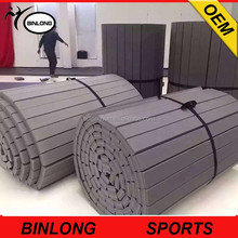 100% factory roll out mats, used wrestling martial arts roll out mats for sale