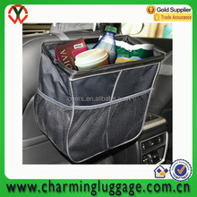 Wholesale Shenzhen factory polyester new fashion reusable car waste bin