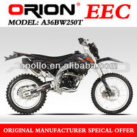China APOLLO Orion Enduro 250cc EEC BIKE On Road Water cooled A36BW250T 21/18