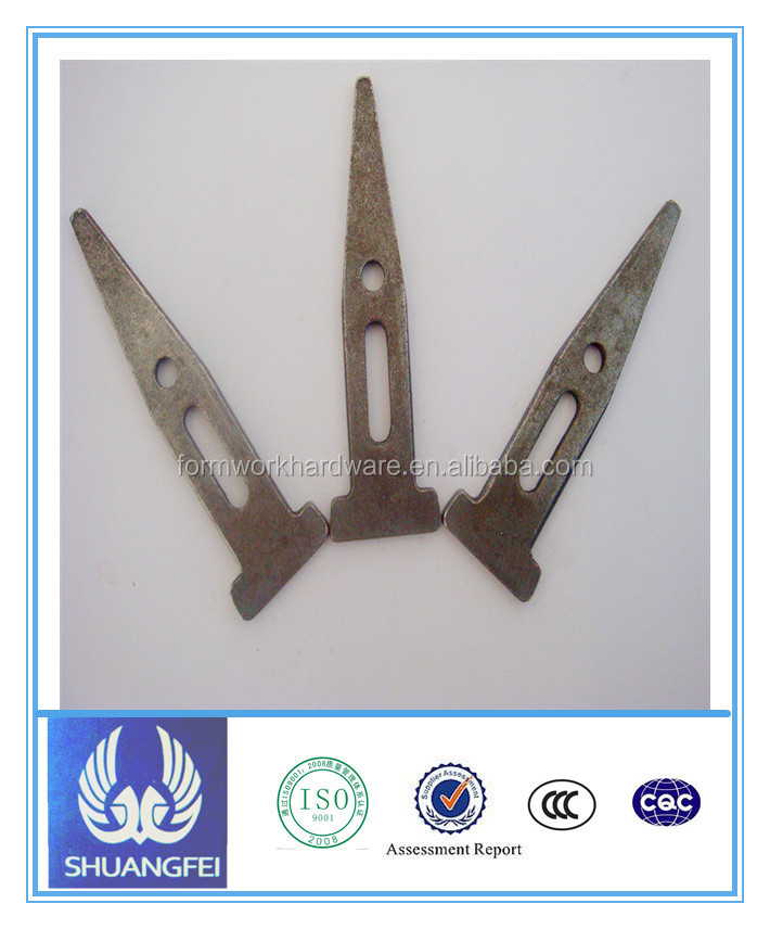 concrete hardware wedge pin scafffolding aluminum system long/standard/short wedge bolt