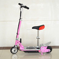 120W mini electric scooter with steel deck