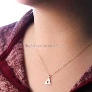 ningbo port popular product in alibaba bicycle pendant thin chain necklace unique sign jewelry beautiful girl necklace