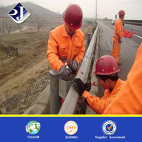 High strength exported guardrail bolt AASHTO M180 bolt and nut Grade 8.8 guardrail bolt and nuts