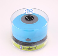 NEW PRODUCTS 2014 High Quality Top seller shower bluetooth speaker waterproof with fm radio