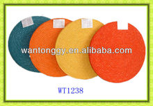 colourful home use fashion floor straw mat