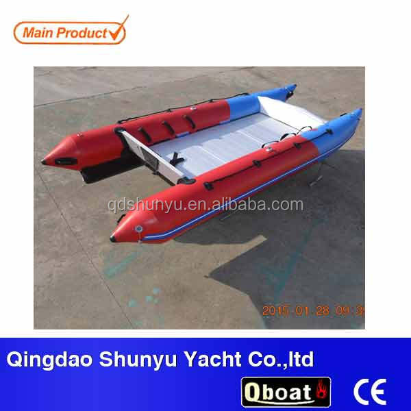 (CE)5 persons sailing racing boat with stainless steel transom