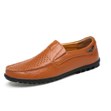 Business Shoes Mens Casual Loafers Brown Shoes