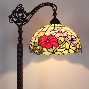 handmade 12 inch tiffany style floor lamp European design for home decoration