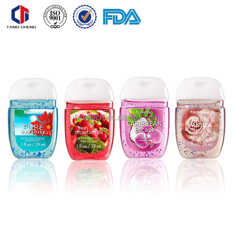 OEM mini pocket waterless instant hand sanitizer with silicone case