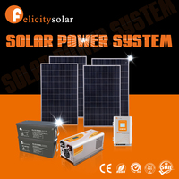 2016 Guangzhou Felicity factory sell directly off grid solar panel system 3000w