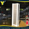 Pure white color residential aluminium plantation shutters