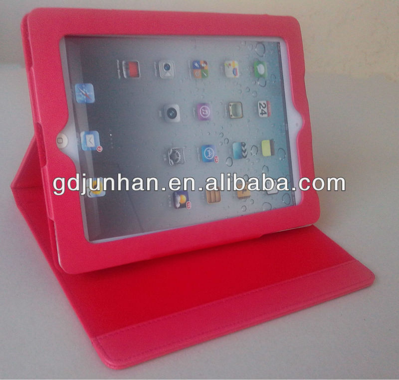 fashion smart leather case for ipad