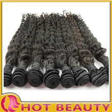 Deep wave hair in hot beauty human hair in thailand