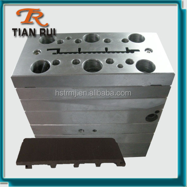 Ecology WPC Extrusion Panel Die Head Mold For Wall Plate