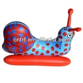 child inflatable snail ride on toy