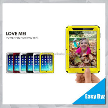 for iPad Mini 2 Case,Love Mei Waterproof Shockproof Case for iPad Mini 2, Metal case for Ipad Mini 2