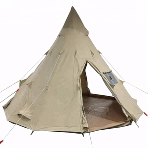 5M teepee tipi tent 100% cotton canvas