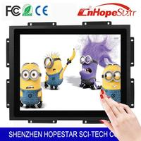 hotel use 15 inch OEM open frame lcd display with best design
