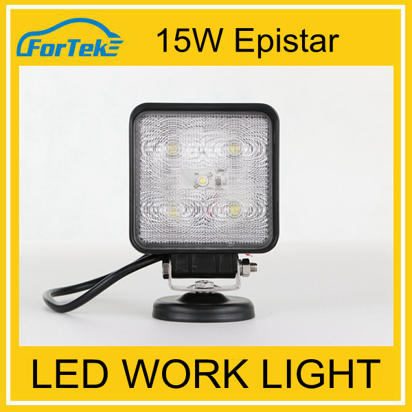 IP68 waterproof high brightness 15w work zone rechargeable led worklight