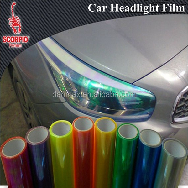 High Glossy Protect Car Light Chameleon Headlight Tint