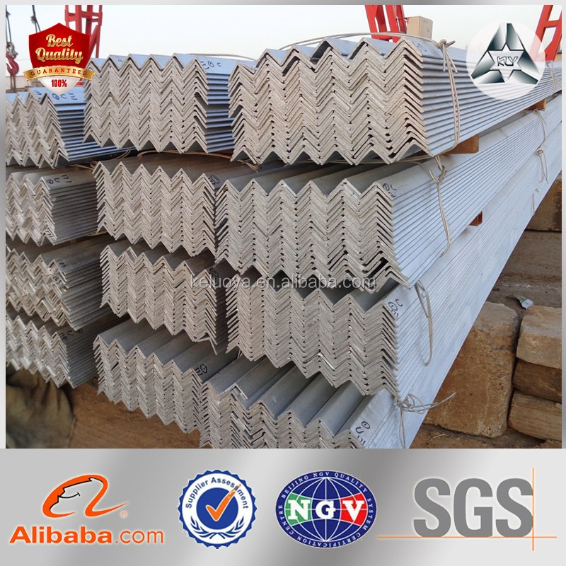 High Quality Perforated L Profile A36 L Type Steel Bar Specification GI Angle