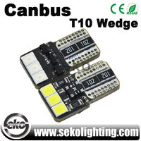 Guangzhou seko DC 12V w5w T10 no polarity Canbus for car led light lamp