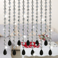 Bulk Buy Crystal Rondelle Glass Beads For Making Home Curtain