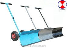 Snow Pusher/Snow Mover With Wheels