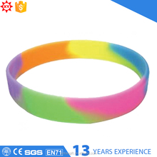 Custom sports team silicone bracelet