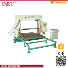 D&T high quality polyurethane foam cutting machine mattress cutting machine