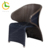 2018 contemporary KD armrest wicker outdoor dining chair